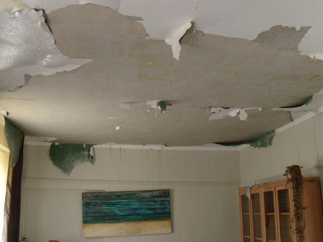 Bouwdroger Help!! Het plafond valt naar beneden!! 5