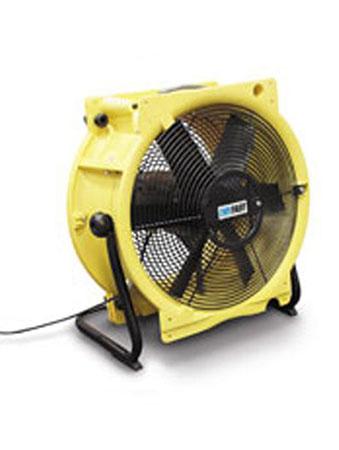 Bouwdroger - TTV 4500 – Ventilator in combinatie met luchttransportslang van 7,6 m